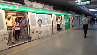 Oppo Delhi Metro Train Wrap