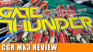 Classic Game Room - GATE OF THUNDER review for PC-Engine