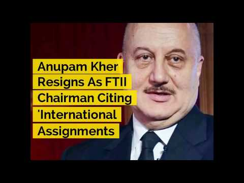 Anupam Kher Resigns As FTII Chairman, Cites Commitment To 'International Assignments' | ABP News Mp3