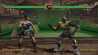 Mortal Kombat Armageddon Jill Valentine - (VERY HARD) - (WII)【TAS】