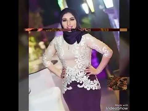 297e7c9b2 أجمل موديلات فساتين خطوبه للمحجبات للعرايس 2018 - YouTube