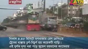 Shocking railway cross accident in India   SantaBanta Forums