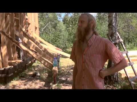 Видео со стройки ретритного йога-центра Ананда Шивани