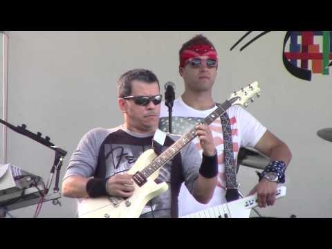 Standing Hampton performs in Marshalltown