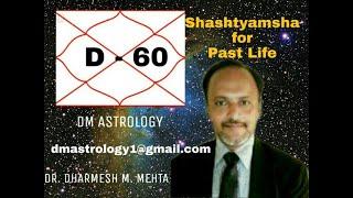 D-60 Shashtyamsha For Past Life By Dr Dharmesh Mehta