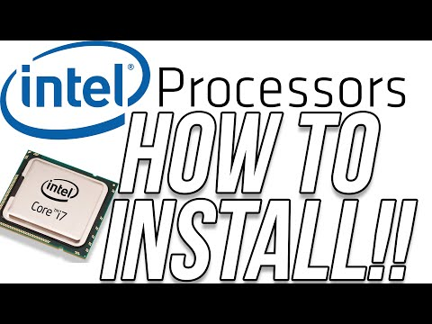 How To Install An Intel Processor (Installing An Intel Core i7 Processor)