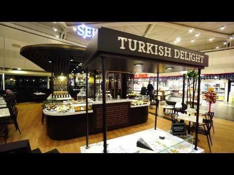Turkey, Istanbul Atatürk Airport, walking to Terrace