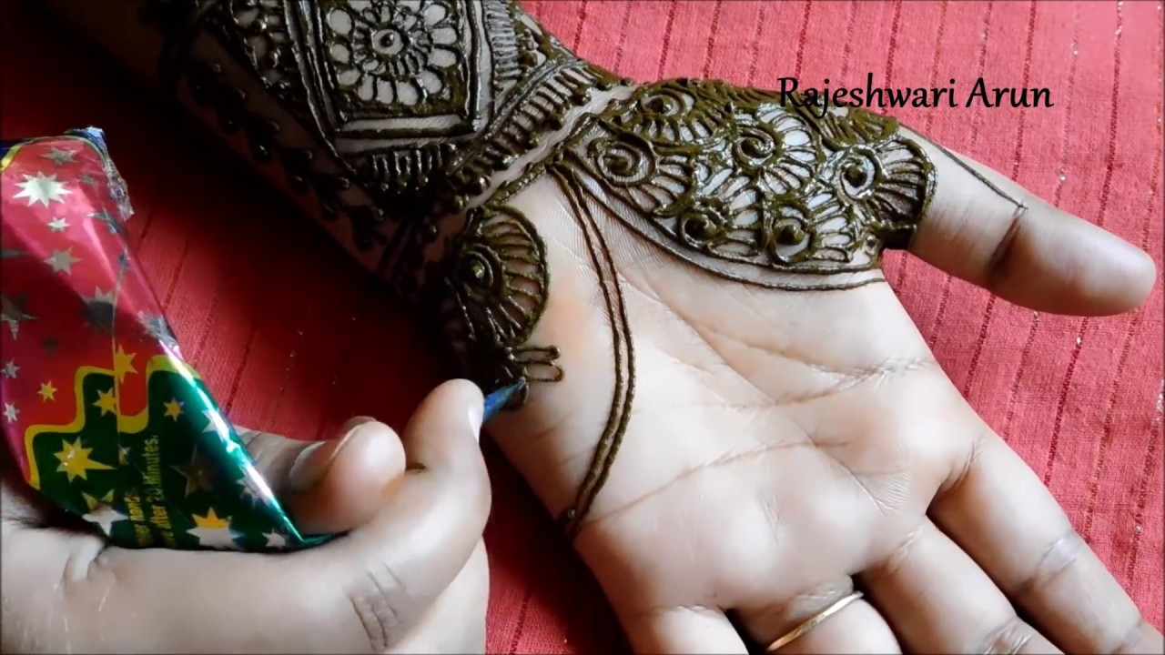 Mehndi Hands With Watch : Simple bridal henna mehndi designs for full hands