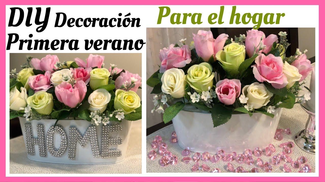 Diy Arreglo Floral Para Primavera Verano Elegante Y Económico