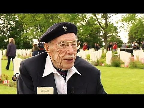 D-Day: 100-year-old Canadian veteran returns to the beaches