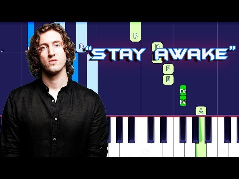 Dean Lewis - Stay Awake Piano Tutorial EASY (Piano Cover)