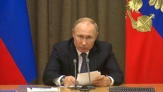 Владимир Путин: Россия выступает против милитаризации космоса