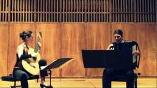 """Café 1930"", from ""Histoire du Tango"", by Astor Piazzolla, played by Duo Mnema"