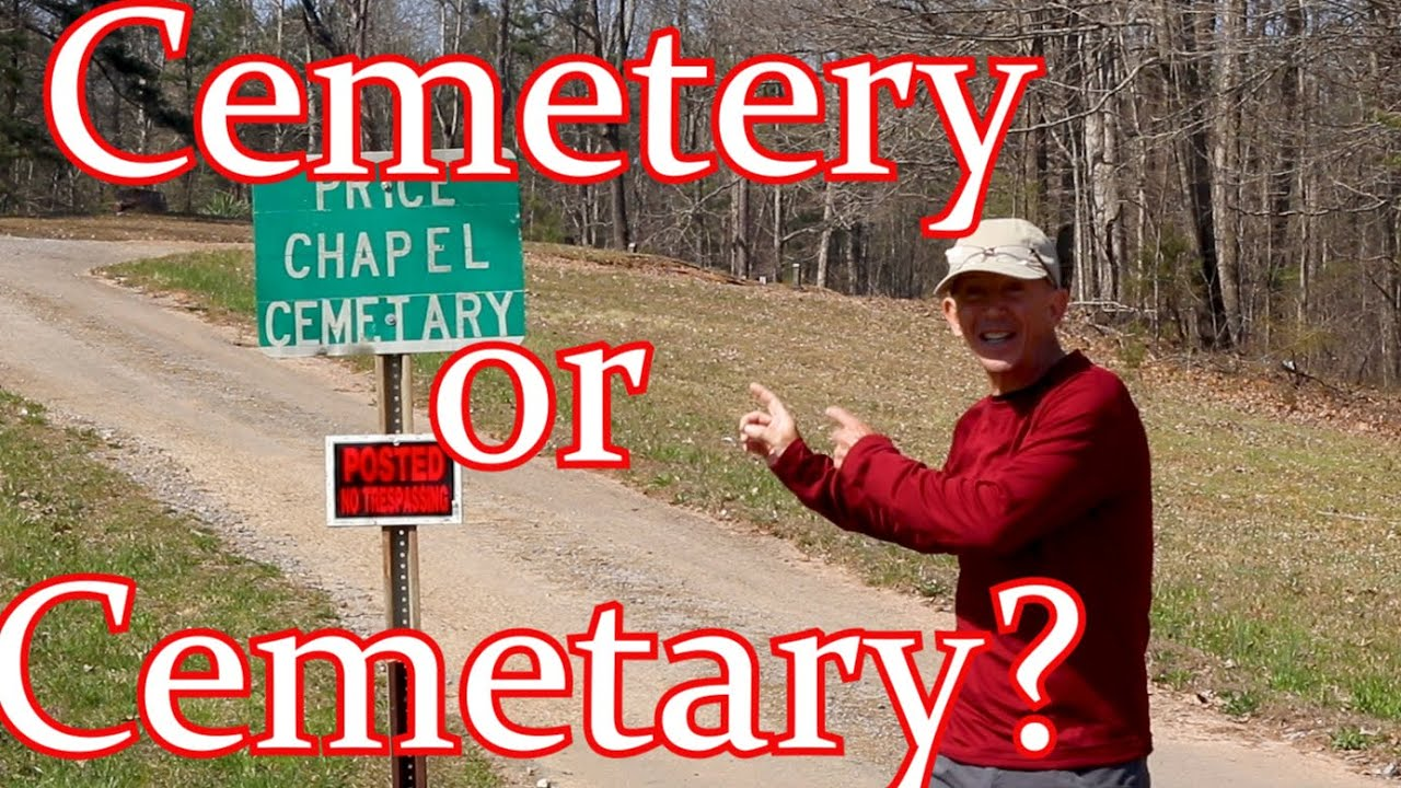 Cemetary or Cemetery?  How Do You Spell The Word?