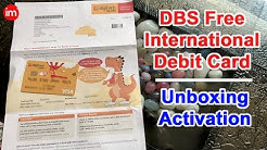 DBS Bank International Debit Card Review and Activation Process in Hindi | Digibank By DBS