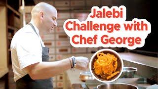 George Calombaris takes the Jalebi Challenge