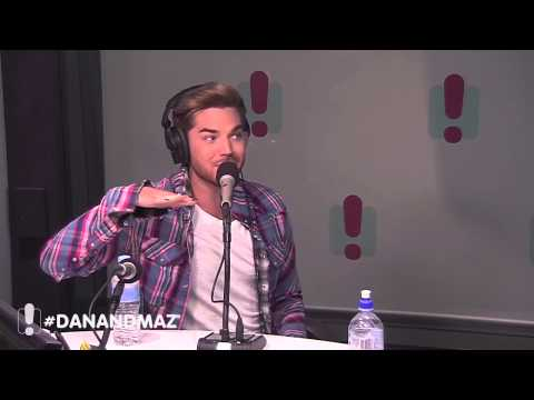 Adam Lambert Interview with Dan & Maz (2015)