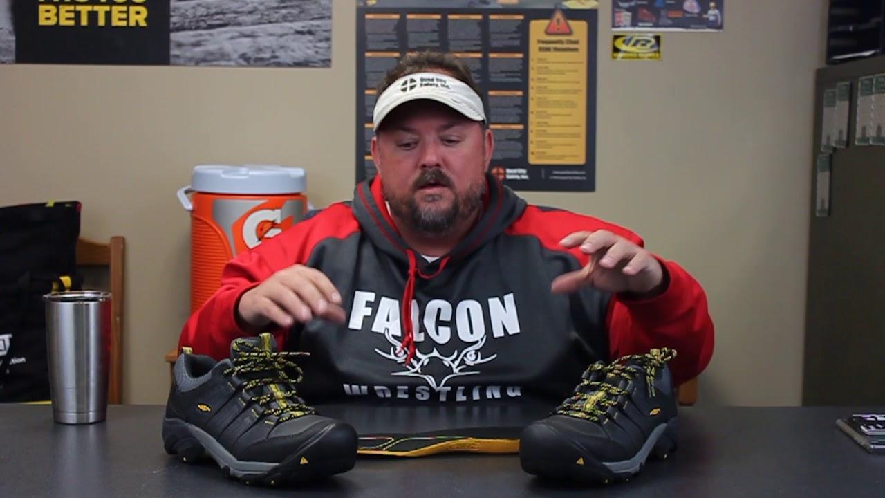 Boulder Low Steel Toe Boots