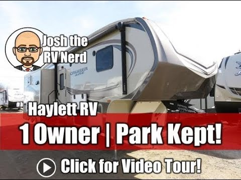 Download (Sold) 2016 Cruiser Aire 29RS Used Rear Sofa Triple Slide Fifth Wheel by CrossRoads RV