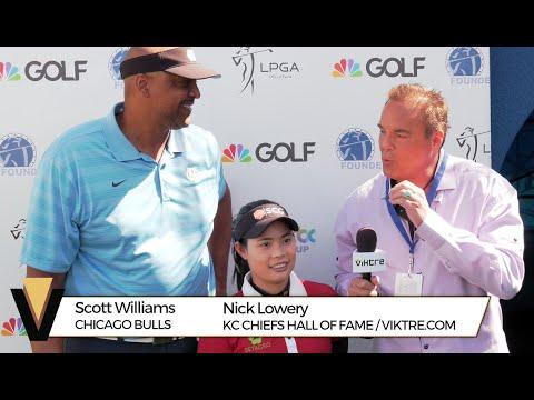 LPGA Founders Cup 2016 - Interview w/ Scott Williams & Moriya Jutanugarn - VIKTRE