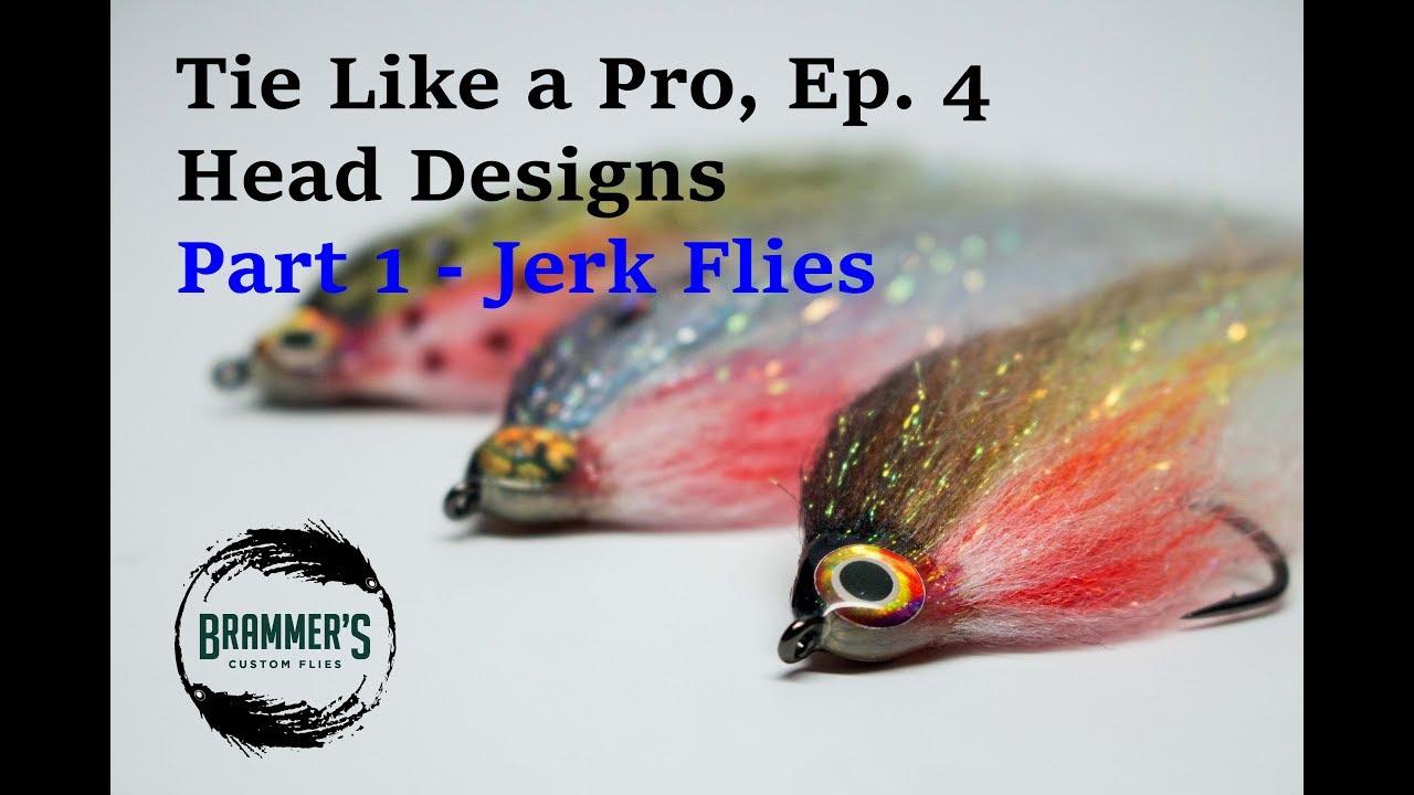 Tie like a pro ep 4 head designs part 1 jerk flies youtube tie like a pro ep 4 head designs part 1 jerk flies ccuart Images