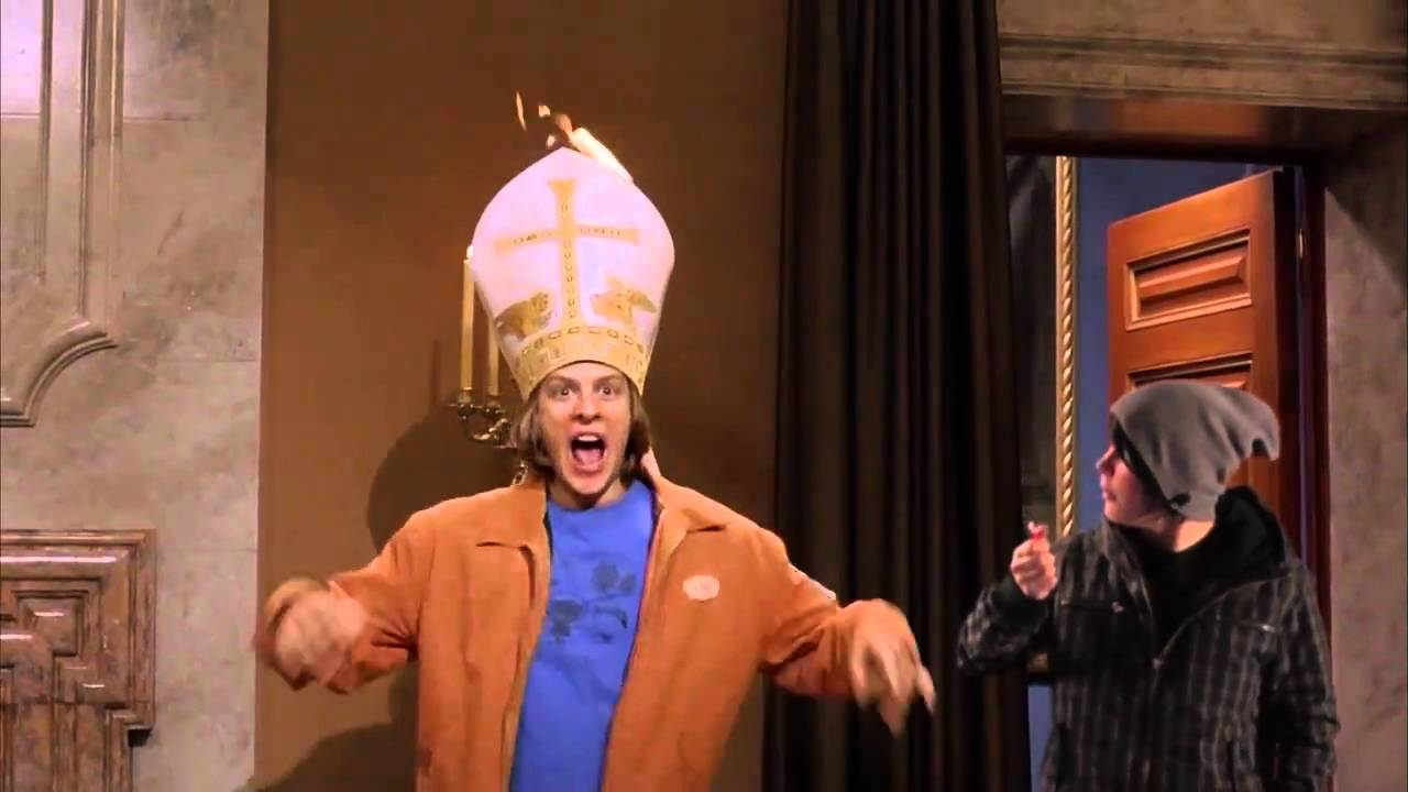 Eurotrip The Pope S Hat Is On Fire Youtube