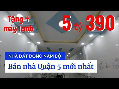 Chính chủ Bán nhà Quận 5, mới xây 2 lầu rất đẹp, gần ngã 4 Trần Phú - Lê Hồng Phong