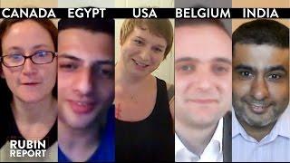 Rubin Report Fan Show: Egypt, India, Texas, Brussels, Canada (3)