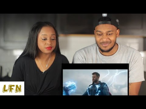 Marvel Studios Avengers: Endgame (official trailer) (reaction)