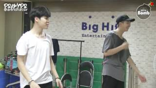 Video [INDO SUB] [BANGTAN BOMB] RM and Jin Dance Stage Behind the scene for BTS DAY PARTY 2016 download MP3, 3GP, MP4, WEBM, AVI, FLV September 2017