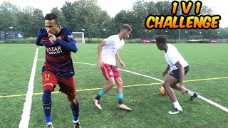 1v1 AGAINST THE TWO BEST FOOTBALL YOUTUBERS