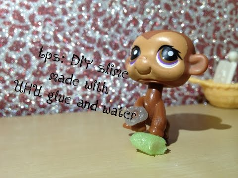 Lps: DIY slime for lps made only by UHU glue and water