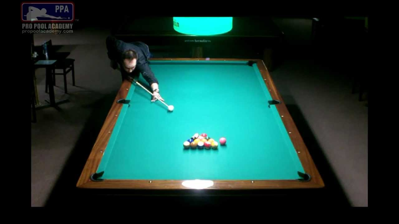 Straight Pool 99 Ball Run On 10 Foot Table Former World Record Video