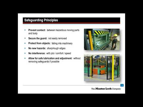 Free webinar: Machine Safeguarding and its Impact on Alternative Methods to Lockout