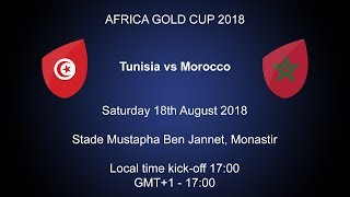 2018 Rugby Africa Gold Cup - Tunisia v Morocco