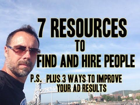 How to find Employees for landscaping, construction or lawn care
