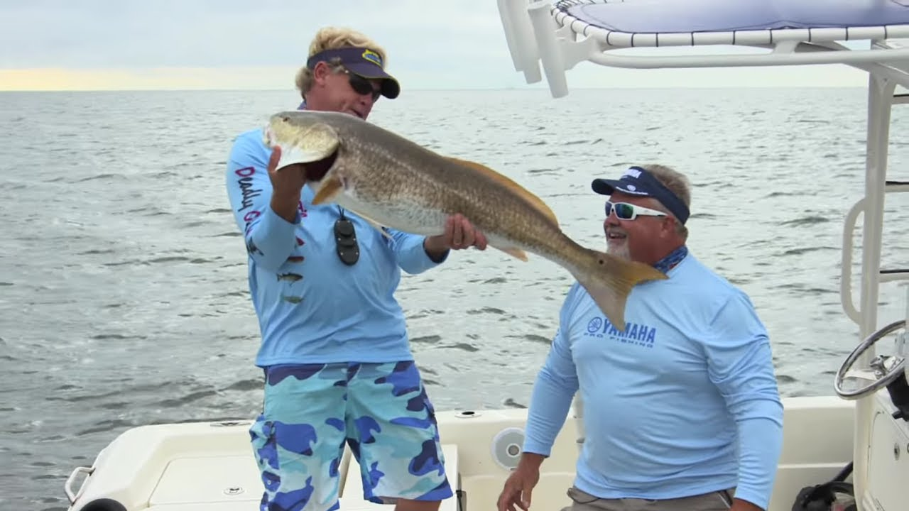 Neuse river fishing for monster redfish in north carolina for Neuse river fishing report