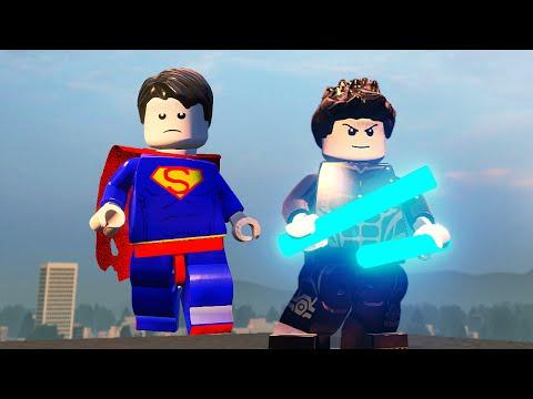 СУПЕРМЕН и НАЙТВИНГ в  LEGO Marvels Avengers