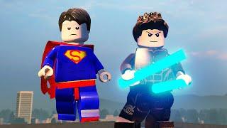 СУПЕРМЕН и НАЙТВИНГ в  LEGO Marvel's Avengers