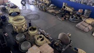 Hansy replacement parts  for crusher of Metso,Sandwik,Terex,Symos