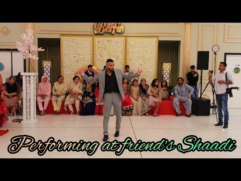 Performing At Friend's Shaadi | Free Style Dance | Mister Khan | Paris