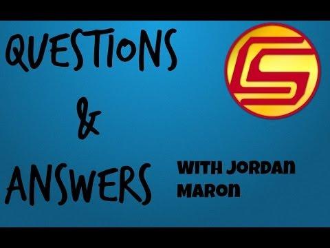 Jordan Maron - Q & A