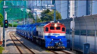210504 부산 동해선 부산원동역 5332 화물열차 …