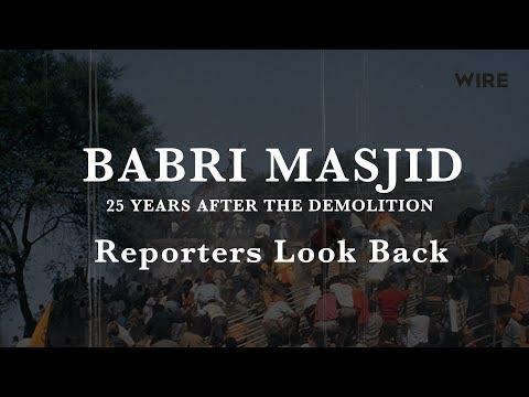 Babri Masjid Demolition: Chronicle of a Tragedy Foretold