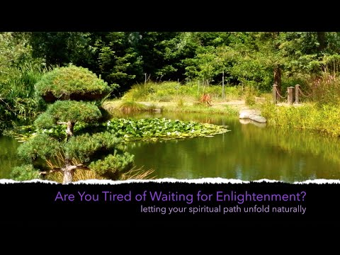 Tired of Waiting for Enlightenment? | Jon Bernie day-long nonduality retreat
