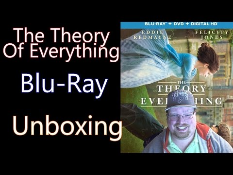 The Theory Of Everything BluRay Unboxing Giveaway Ended
