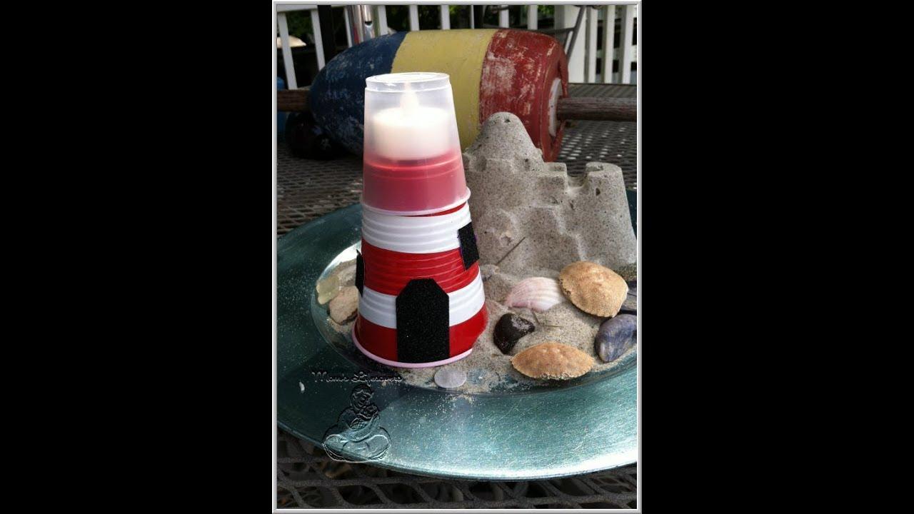 How To Make A Lighthouse Cake