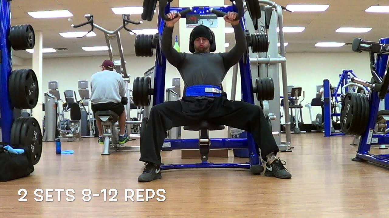 Download Countdown to NRFL Combine: Upper Body Hypertrophy Work, 56 Days Out!