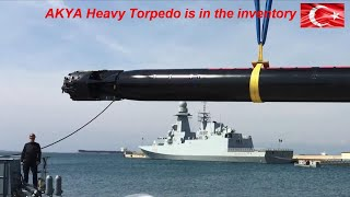 AKYA Heavy Torpedo Will Enter The Service Of The Turkish Navy This Year.