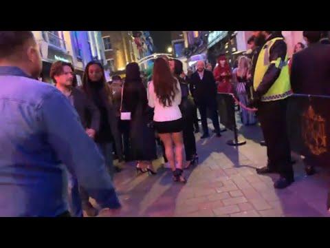 Soho/ West End London 🇬🇧 Drunk Saturday Night Bars/clubs